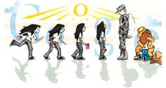 Great Google Doodle of a dad's homecoming.