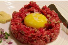 Steak Tartare - The Culinary Chase Steak Tartare, Vinaigrette, Pizza, Favorite Recipes, Dishes, Cooking, Breakfast, Healthy, Support Local