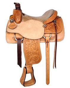 Circle S Roping Saddle - #6398