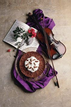 Violins and chocolate...what could be sweeter?