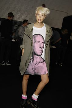 Agyness Deyn, Alexa Chung Style, 80s Punk, Iconic Women, Boyish, Girl Crushes, Passion For Fashion, Style Icons, Street Style