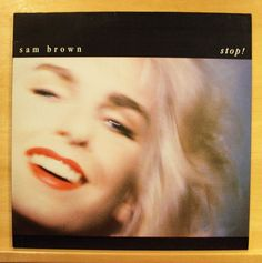 SAM BROWN - Stop ! - near mint - Vinyl LP - OIS - 1988 - A & M Records -Top RARE