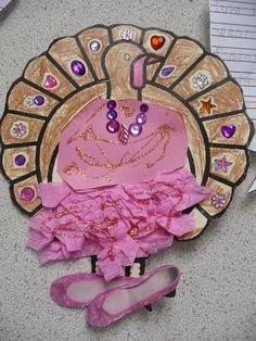 ballerina turkey disguise