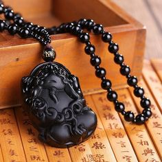 Black Obsidian Stone is a powerful cleanser of psychic smog created within your aura. Necklace is approximately cm). Obsidian Stone, Guanyin, Women Jewelry, Men's Jewelry, Necklace Types, Shape Patterns, Fashion Necklace, Dog Tag Necklace, Buddha
