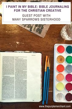 All about Bible Journaling and using art to enhance your devotions!