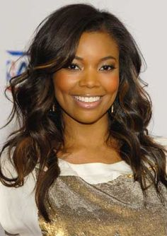 View yourself with Gabrielle Union hairstyles and hair colors. View styling steps and see which Gabrielle Union hairstyles suit you best. Black Hairstyles With Weave, Sew In Hairstyles, Black Women Hairstyles, Curly Hairstyle, Wedding Hairstyles, Gabrielle Union Hairstyles, Natural Hair Styles, Short Hair Styles, For Elise