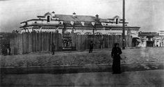 The Ipatiev House, the photo was taken on May 1918 by OTMAA teacher Pierre Gilliard ~the family of Nikolay II will be murdered there two moths later