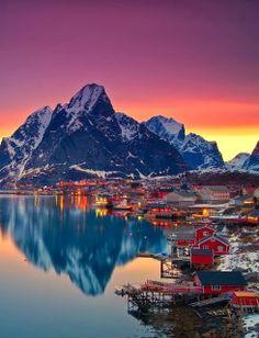 Norway -- looking @ that picture just guarantees to me that there is a God and the earth is His canvas.
