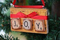 Mamie Jane's: Yardstick Ornaments