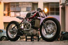 When your work is recognised to be of such a high standard that you're asked to build a motorcycle for a major custom show, there are really only two choices a builder has. Either you take the safer path and build a bike in a style you're known for, it's what got you there in the first place, or you take a swing for the fences trying something you've never done before, willing to risk it...