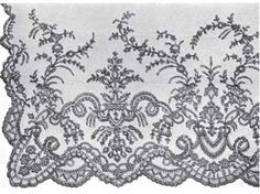 A Lace Lover's Diary - Chantilly Veil 19th century