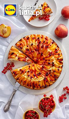 Ciasto z morelami i suszoną żurawiną. Kuchnia Lidla - Lidl Polska #pawel  #ciasto