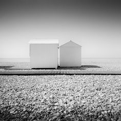 Panorama Camera, Landscape Photography, Art Photography, Building Front, Normandy Beach, Black And White Landscape, Contemporary Landscape, Black And White Photography, Fine Art Paper