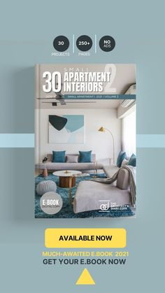 30 Best Apartment Interior design in India is a collection of amazing Apartment designs around the country, with this E-Book we believe to provide design inspiration to the readers Also,well-curated designs from the most innovative and established design firms. 3000+ COPIES SOLD OF 1ST EDITION. 2nd EDITION IS EVEN BETTER!