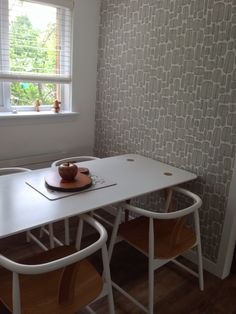 Missprint wallpaper I'm my dining room