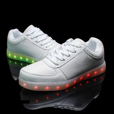 LED Shoes 2016 New 8 Colors Emitting Luminous Casual Shoes Men Woman LED Lights USB Charging Shoe Fashion Printing Flat Shoes-in Men's Casual Shoes from Shoes on Aliexpress.com | Alibaba Group