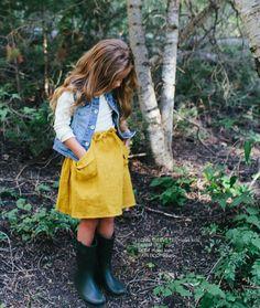Kid's fall fashion #inspo | Little Peanut Mag Fall 2015