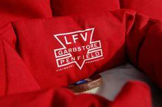 Penfield for Garbstore 1930s Life Preserver Vests.
