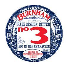 burnham no. 3 beer pump clip