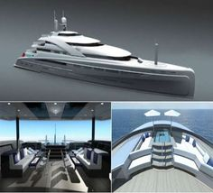 The Illusion Superyacht Adopts the Superior Styling of Rolls Royce #yachts trendhunter.com