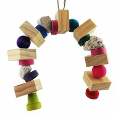 Chinchilla Hanging Toys - The Rainbow $14.00