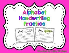Help your students get extra fine motor and handwriting practice with these alphabet tracing pages! Pages can be printed and copied for each student to practice. You can also put colored copies with page protectors into a binder for reusable practice with a dry erase marker!