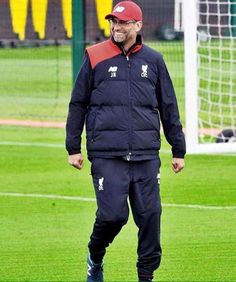 Klopp in Melwood