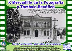 X Mercadillo Fotográfico y Tómbola benéfica