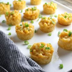Mac N Cheese Bites recipe - it's the ultimate comfort food. A decadent combination of Gruyere & Cheddar cheese… little gifts of goodness in every bite! Mac Abd Cheese, Mac And Cheese Bites, Macaroni And Cheese, Cheddar Cheese, Recipes Appetizers And Snacks, Snack Recipes, Cooking Recipes, Appetizer Ideas, Side Dishes Easy