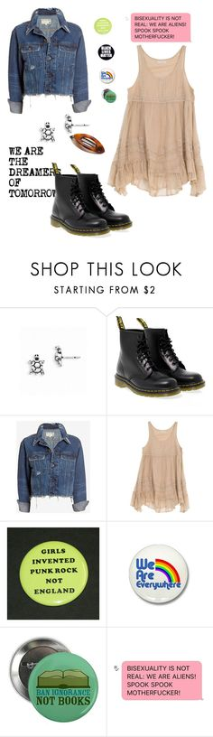 """""""John Laurens"""" by rebellious-ingenue ❤ liked on Polyvore featuring Rachel, Dr. Martens, rag & bone/JEAN, Billabong and France Luxe"""