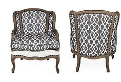 Upholstered Chairs, Pair on OneKingsLane.com