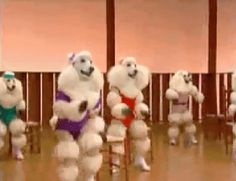 These dancing poodles? | 24 Absolutely Unexplainable GIFs