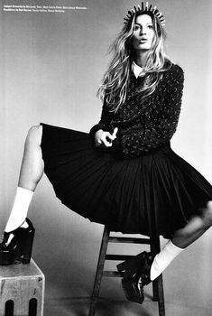 The Good Girl –  i-D Magazine. Teaming up with photographer Emma Summerton and stylist Edward Enninful