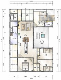 Japanese Architecture, Sims House, Japanese House, House Plans, Floor Plans, Flooring, How To Plan, Room, Home Plans