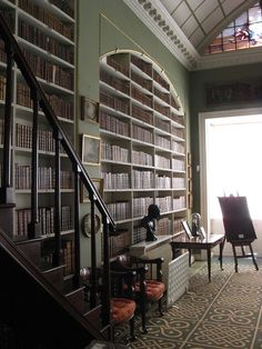 The Library at Stourhead.