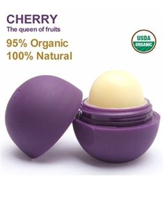 CHERRY, THE QUEEN OF FRUITS, EOS (EVOLUTION OF SMOOTH) LIP BALM THAT PRECISELY GLIDES ONTO LIPS