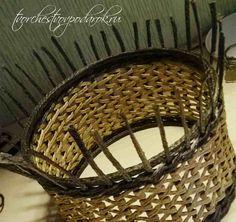 Мастер-класс корзинки из джутового шпагата 1 часть. Корзинка своими руками. Простой мастер-класс с пошаговым фото. Делаем оригинальный узор из джута.