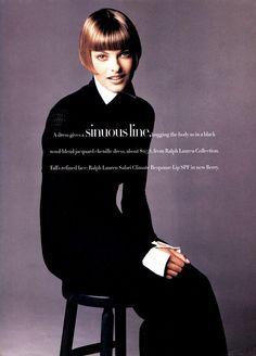 Harper's Bazaar October 1993 / Patrick Demarchelier / Art Director: Fabien Baron