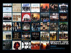 singles of westlife 1998-2012  Tears in my eyes ... I miss you, Westlife!