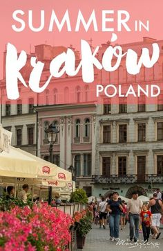 Summer in Kraków left me wanting more. It had that special something–something I can't quite put my finger on.  It's like the city has its own pulse, a deeply-rooted sense of self, and a personality you'd be hard pressed not to like. Here's how I experienced Krakow, Poland, through the lens of my camera.
