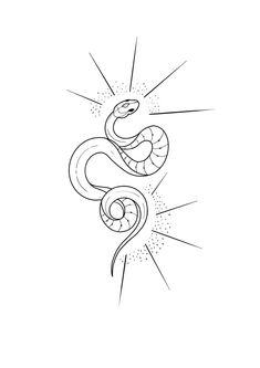 Line Art Tattoos, Tattoo Flash Art, Body Art Tattoos, Small Tattoos, Tatoos, Cobra Tattoo, Snake Tattoo, I Tattoo, Tattoo Sketches