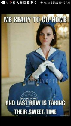 #aviationhumorflightattendant
