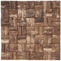 Cocomosaic Wooden MosaicTile in Brown & Reviews | Wayfair