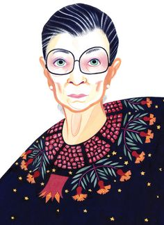 Justice Ruth Bader Ginsburg is 81 years old, and she isn't retiring any time soon. When the Supreme Court decides mammoth issues like the future of the Affordable Care Act and a national right for gay couples to marry, she plans to be on the bench. Read more in this opinion piece by Columnist Gail Collins. (Illustration: Eleanor Davis)