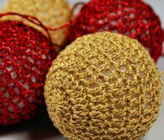 Crochet Chritsmas Balls - Tutorial ❥ 4U // hf http://www.pinterest.com/hilariafina/