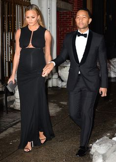 Chrissy Teigen wowed while out with John Legend in N.Y.C.