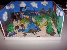 I made this in 2nd grade. It's pretty nice, eh? I got a good grade on this. At that time, I had the choice to do a diorama OR an essay. Well I chose a diorama but my mom made me do the essay, too :/