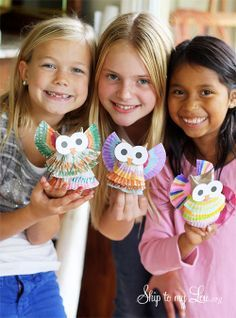 Owl Christmas Ornament for Kids to Make | best stuff