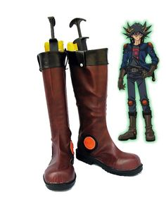 Yu-Gi-Oh! 5Ds Yusei Fudo Cosplay Shoes Boots Custom Made * Read more reviews of the product by visiting the link on the image.