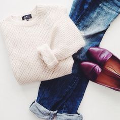 Cozy outfit staples.
